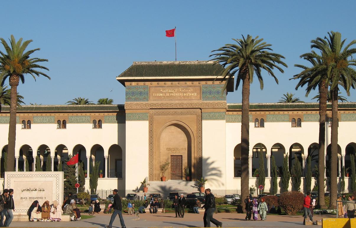 Resultado de imagen de tribunaux Maroc