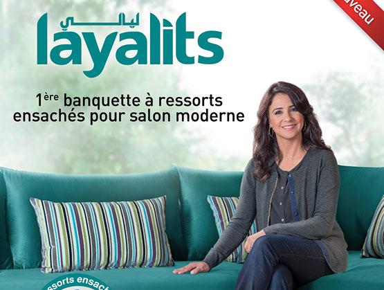 Dolidol lance un nouveau salon marocain - Salon marocain avec dossier ...
