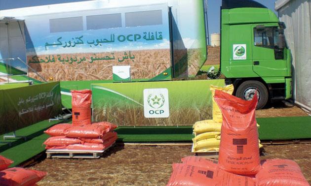 Ocp lance sa caravane maraichage 2014 for Portnet maroc