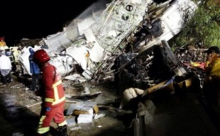 Dozens feared dead as Taiwan passenger plane cra