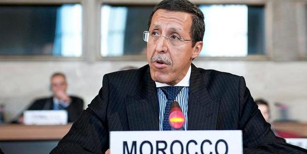 Omar Hilale, l'Ambassadeur, Représentant Permanent du Royaume auprès des Nations Unies.