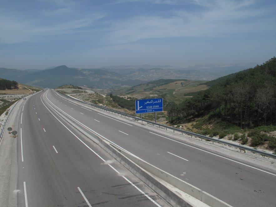 soci t nationale des autoroutes du maroc fermeture ce mercredi l 39 autoroute tanger port tanger. Black Bedroom Furniture Sets. Home Design Ideas