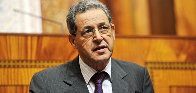 Mohand Laenser, ministre de l'Urbanisme et de l'Aménagement du territoire.
