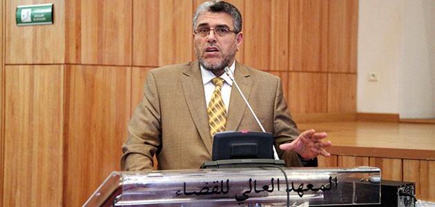 Mustafa Ramid, ministre de la Justice et des Libertés.