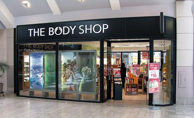 Lambitieux Plan Du Britannique The Body Shop