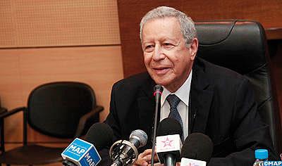 Rachid Belmokhtar, ministre de l'Education nationale