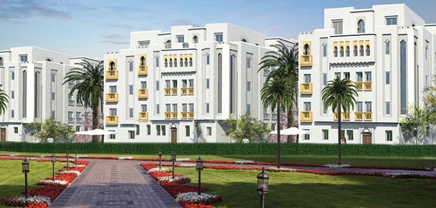 Projet Les Jardins de l'Atlantique de Résidences Dar Saada à Tanger.