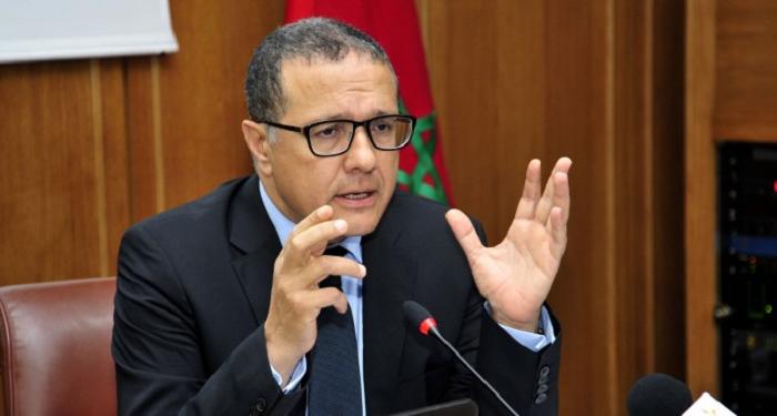 Mohamed Boussaid, ministre de l'Eocnomie et des Finances