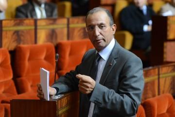 Mohamed Hassad, Ministre de l'Intérieur.