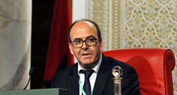 Abdelhakim Benchamach,  président de la Chambre des Conseiller