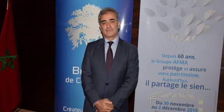 Farid Bensaid, PDG du groupe AFMA