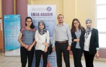 L'équipe d'élèves-ingénieurs de l'ENSA Agadir