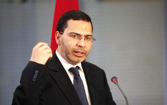 Mustapha El Khalfi, ministre de la Communication et porte-parole du gouvernement