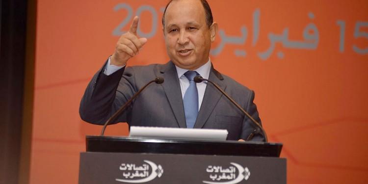 Abdeslam Ahizoune, président du directoire de Maroc Télécom.
