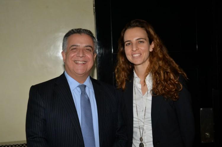 Mohammed Raihani, Directeur Général de Vivo Maroc et Hind Mejjati Alami Chargée RP Vivo Energy