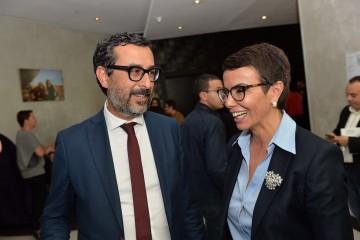 Slim Cheikh, DG de Soread 2M et Khadija Boujanoui, président du Comité parité de 2M