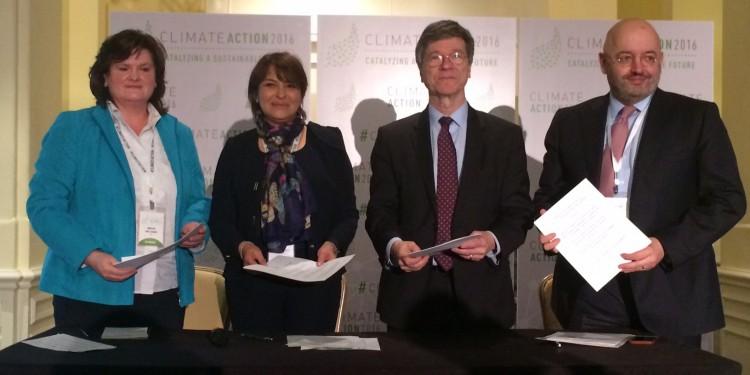 COP22: Mémorandum d'entente à Washington entre le Maroc et trois organismes internationaux de développement durable