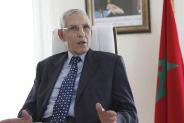 Lahcen Daoudi, ministre  sortant de l'Enseignement supérieur, de la Recherche scientifique et de la Formation des cadres