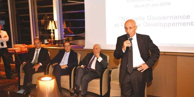 Benoit Vaillant, Abdeslam El Alami, Mohamed El Alami et Jawad Sqalli.