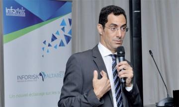Khalid Ayouch, PDG d'Inforisk
