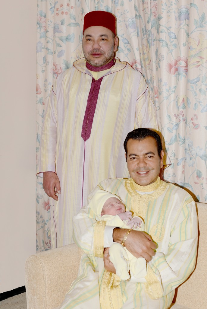 Naissance dans le foyer de SAR le Prince Moulay Rachid d'un nouveau-né que SM le Roi a baptisé du nom de Son Altesse le Prince Moulay Ahmed