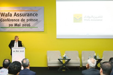 Ali Harraj, PDG de Wafa Assurance.