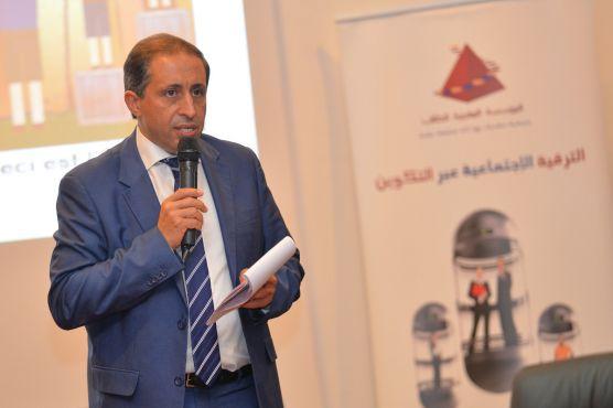 Hamid Ben Elafdil, Président de la Fondation Marocaine de l'Étudiant.
