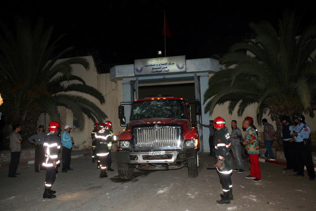 Mutinerie à la prison de Oukacha — Maroc