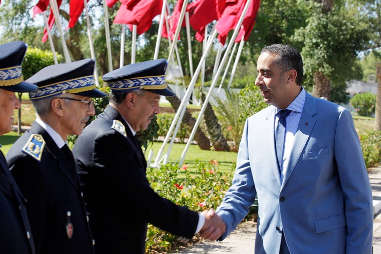 Abdellatif Hammouchi, Directeur général de la sûreté nationale (DGSN) et de la direction de la Surveillance du territoire (DST).