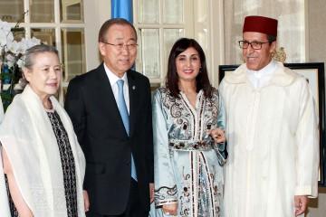 Le Représentant permanent du Maroc auprès de l'ONU offre une réception New York à l'occasion de la fête du Trône