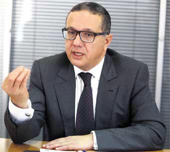 Mohamed Boussaid, ministre de l'Économie et des Finances