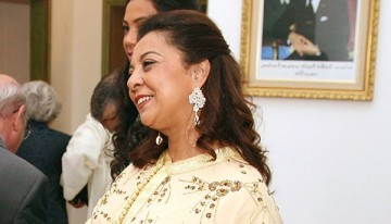 Karima Benyaich, présidente de l'association Voix de Femmes et ambassadeur du Maroc à Lisbonne.