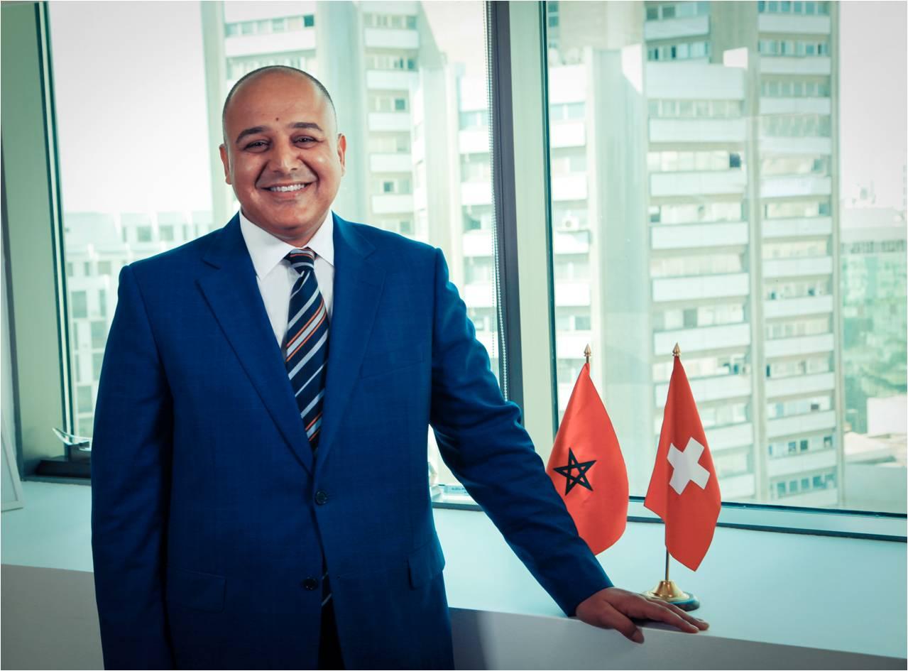 Mehdi benzaari port la t te chambre de commerce suisse for Chambre de commerce suisse