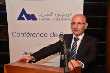 Jawad SQALLI le PDG de ALUMINIUM DU MAROC