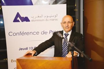 Jawad Sqalli, PDG d'Aluminium du Maroc.