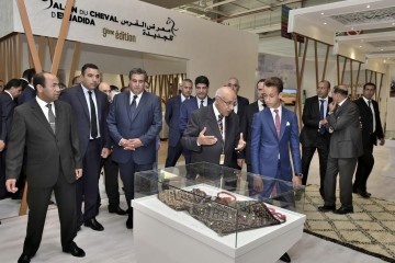 SAR le Prince Héritier Moulay El Hassan préside, à El Jadida, la cérémonie d'ouverture de la 9ème édition du Salon du cheval