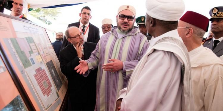 SM le Roi donne le coup d'envoi de la construction d'une nouvelle mosquée à Dar es Salam