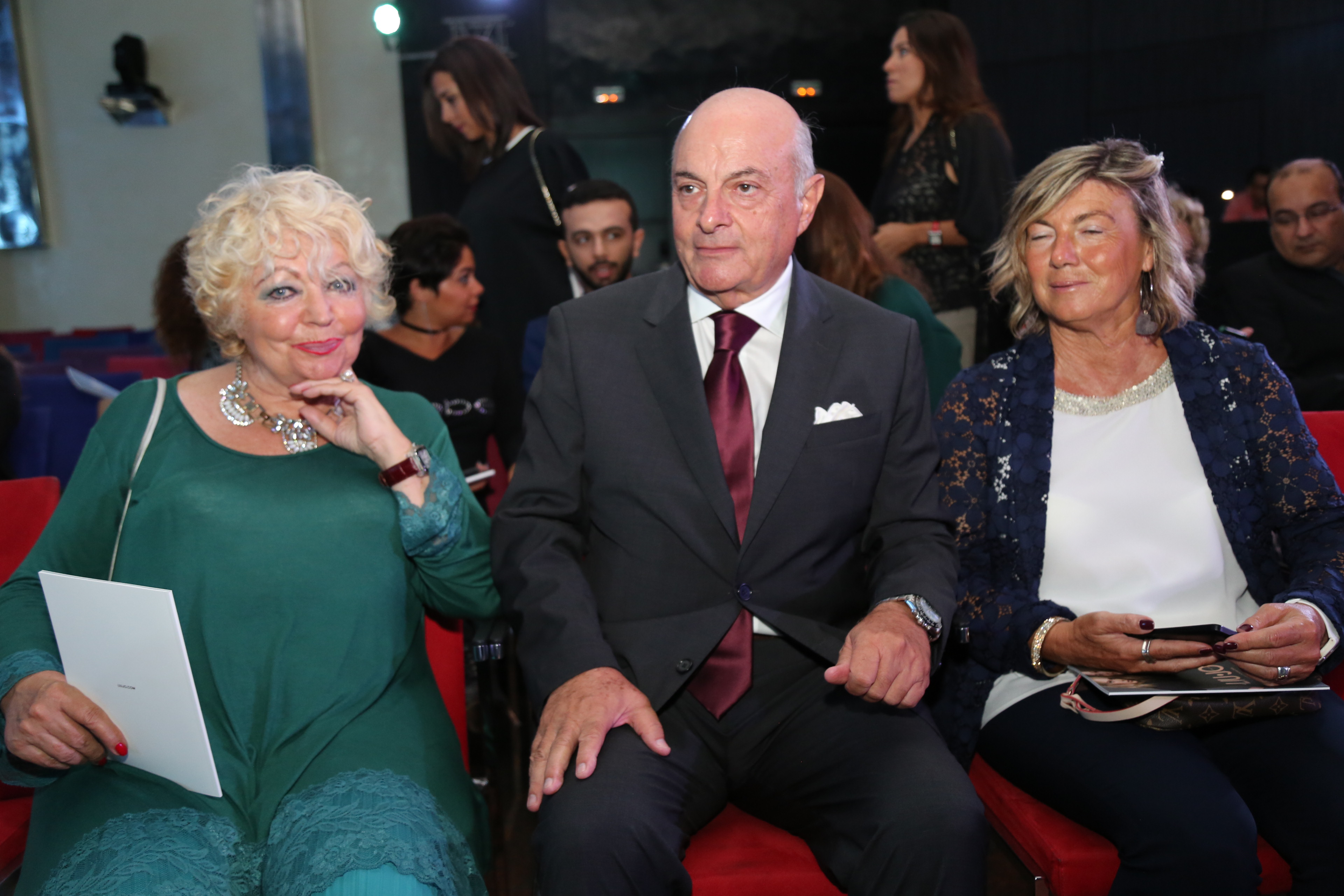 Double Celebrations Pour La Chambre De Commerce Italienne De