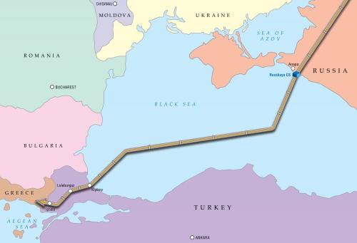 carte Turkish Stream