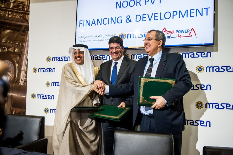 Masen acwa power s adjuge le programme noor pv 1 - Office national de l electricite et de l eau potable ...