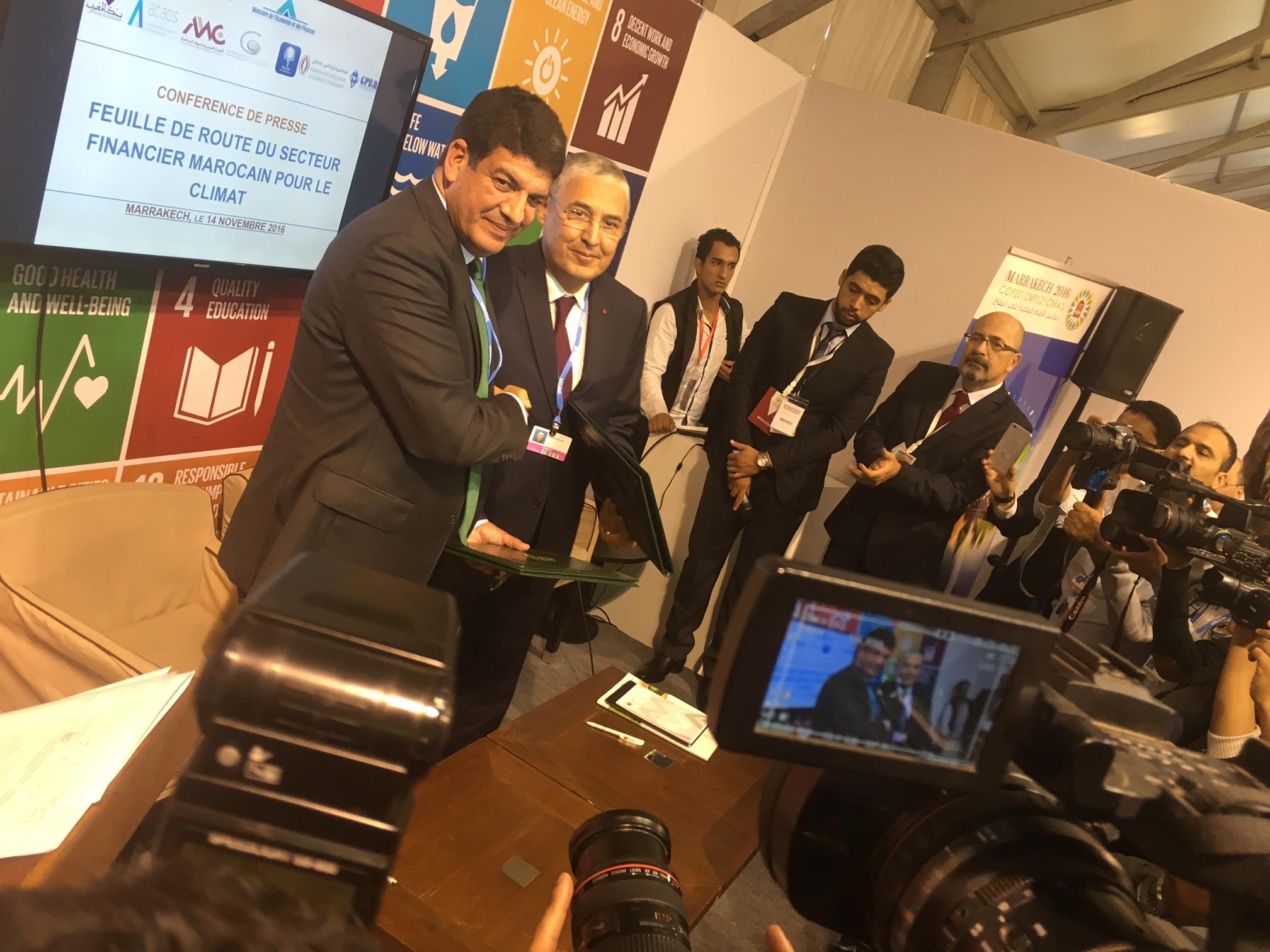 Attijariwafa bank lance à Marrakech le Fonds africain d'efficacité énergétique