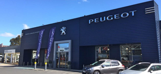 Peugeot montpellier occasion for Garage peugeot nantes occasion