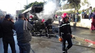 Incendie M'dina Bus