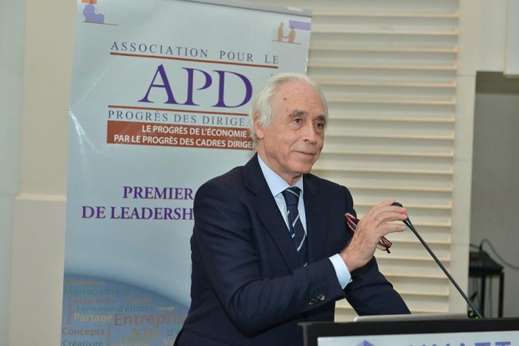 Saad KETTANI , Président fondateur , DG de l'Association pour le Progrès des Dirigeants, organisatrice de la rencontre.