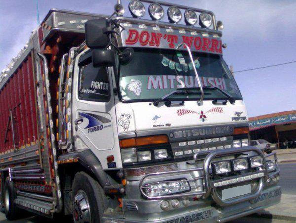 Camion-plaque