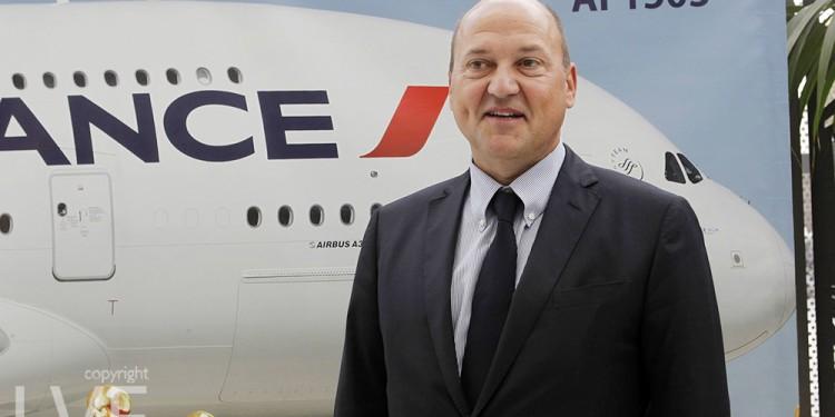 Denis Hasdenteufel, DG de la compagnie Air France pour l'Afrique du Nord et les pays du Sahel.