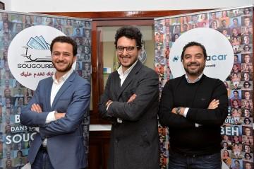 Salmane Berraoui, Mehdi benayad et Jounaid Anasse.