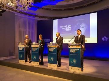 Forum régional de l'UpM qui s'est tenu à Barcelone les 23 et 24 janvier 2017