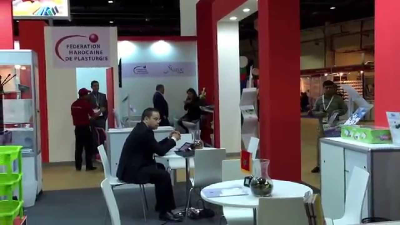 Les industriels marocains au salon arab plast de dubai for Salon plasturgie