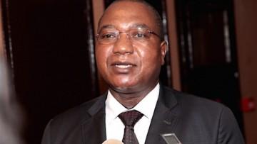 Ernest Gbwaboubou, ministre camerounais des Mines, de l'Industrie et du Développement technologique.